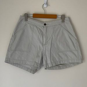 WOOLRICH VINTAGE OFF WHITE SHORTS